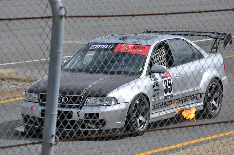 034Motorsport Audi A4 takes 2nd place Overall in Global Tuner Gr